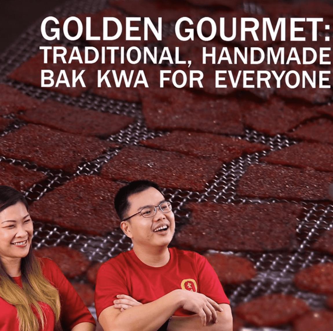 golden gorumet video design